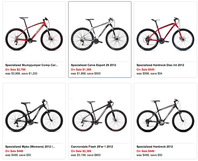 Bike Clearance Sale | Road & Mountain Bike Specialist